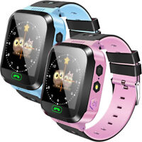 Waterproof Kids Smart Watch Anti-lost Safe GPS Tracker SOS Call For Android iOS&