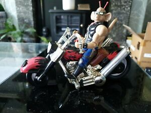 Biker Mice from Mars chopper bike & figure