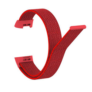 For Fitbit Charge 3 4 Woven Nylon Loop Strap Watch Wristband Bracelet Band
