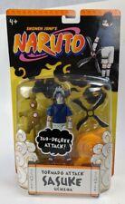 2006 Mattel Naruto Sasuke Uchiha Shonen Jump's Tornado Attack Action Figure