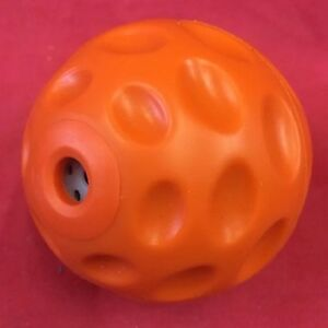 Dog Toy Giggle Sound TPR Self Healing Rubber Ball Healthy Gum Teeth DURABLE