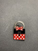 Disney/Disneyland Trading Pin - Minnie Mouse Lock Hidden Mickey Limited Edition