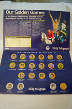 Olympic Games Collectable -Official Gold Medallist Collection -big, BIG NAMES.20
