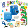 Fujifilm Instax Mini 9 Instant Camera + 60 Fuji Film SHEETS + Accessory Bundle!