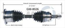 SurTrack GM-8026 CV Axle Shaft
