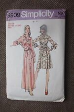 Simplicity Sewing Pattern Misses Dress in 2 Lengths of Short Dress Size 14