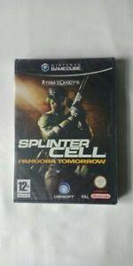 Tom Clancy's Splinter Cell Pandora Tomorrow Nintendo gamecube game NEW And...