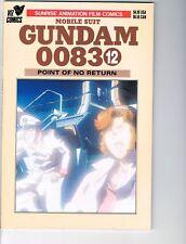 Mobile Suit Gundam 0083  #  12      NM- 9.2