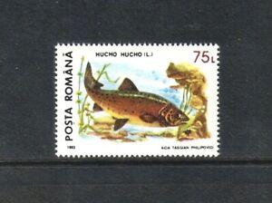 Romania 1993 Protected Animals/ Huchen single value (SG 5530) MNH