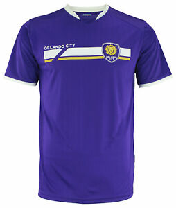Adidas MLS Men's Orlando City SC Finished Mass Soccer Jersey, Purple