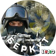 STICKERS AUTOCOLLANTS BERKUT MAIDAN UKRAINE RUSSIE  - 10 CM