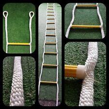 Échèle escalier corde tressée pvc cordage grimper