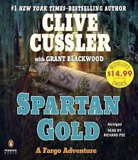 Spartan Gold by Clive Cussler Book 1 Fargo Adventures Series NEW Sealed Audio CD