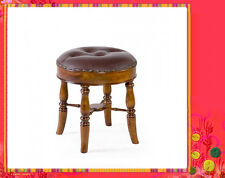 Solid Mahogany French Provincial Furniture Granville Circular Stool