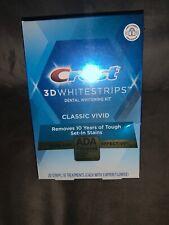 Crest 3D White Classic Vivid Whitestrips Dental Whitening Kit