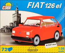 "COBI Fiat 126 el ""Maluch"" (24531) - 72 elem. - Italian/Polish passenger car"