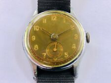 Swiss Made 15J Remington Morse WWII Pilots Military Watch