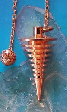 JOE SMITH STYLE HANDMADE DANCING COPPER DOWSING PENDULUM, MOST ACCURATE ANYWHERE