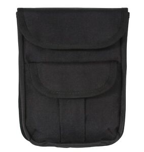 Ammo Pouch 2 Pocket Molle Modular Black Utility Pouch Rothco 9509