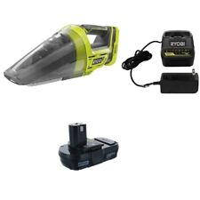 Ryobi P7131 ONE+ 18-Volt Cordless Hand Vacuum Cleaner + P102 Battery & P118B