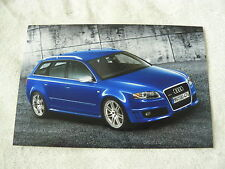 Audi RS 4 Avant 2006 - Presse Foto Werkfoto press photo (A0019