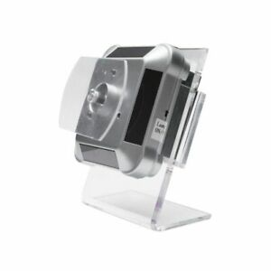 Vertical 360 Degree Rotating Display Stand Phone Holder Mount Battery Powered