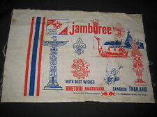 1977 National Jamboree  BangkokThailand Cloth   eb07