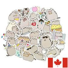 Lot of 100 cute cats themed vinyl stickers - kawaii kitens cat gret matt