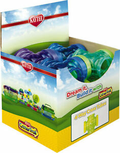 Case Pack of 12 - Kaytee CritterTrail Fun-Nel 4-Way Cross Tubes - Assorted Color