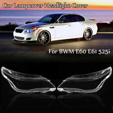 Car Lampcover Headlight Cover Headlamp Lens Lense Lampshade For BWM E60 E61 525i