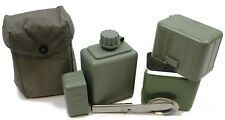 GENUINE YUGOSLAVIAN ARMY COOK SET WATER BOTTLE & CUTLERY
