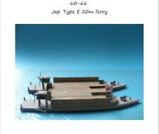 MGM 060-066 1/72 Resin WWII Japanese Type E 20m Ferry
