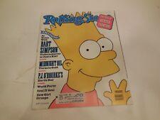ROLLING STONE MAGAZINE - June 28, 1990 # 581 - Bart Simpson - free ship