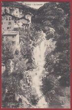 COMO NESSO 03 CASCATA Cartolina viaggiata 1922
