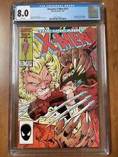 UNCANNY X-MEN #213 (Marvel Comics, 1987) CGC Graded 8.0~ White Pages