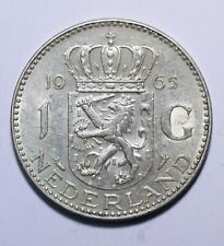 1965 Netherlands 1 Gulden - Juliana - Lot 158