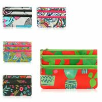 Women Fashion Portable Zip Closure Coin Purse Wallet Pouch Bag Card Holder