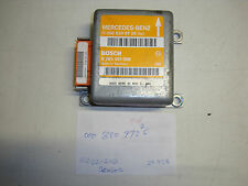 Mercedes-Benz W202 C220 C280 W210 E320 E430 air bag control module 000 820 97 26