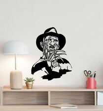 Freddy Krueger Wall Decal Movie Maniac Vinyl Sticker Decor Horror Poster Art 955