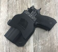 OWB PADDLE Holster CZ 75 D Compact 9 Kydex Retention SDH swift draw holsters
