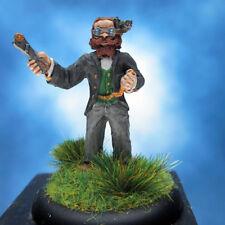 Raoul Mars painted miniature, Steampunk Steve Jackson Games.