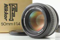 【N.Mint 】 Nikon Ai Nikkor 50mm f/1.4 Prime MF SLR Standard Lens From JAPAN 21030