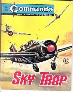 COMMANDO COMIC - No 366   SKY TRAP
