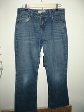 Maurices Size 5/6 (32X31) Distressed Taylor Boot Cut Jeans Stretch 1-7342