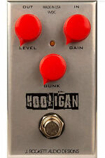NEW J ROCKETT PEDALS TOURS SERIES THE HOOLIGAN FUZZ PEDAL w/ CABLE 0$ US S&H