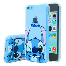 Custodia Cover TPU Silicone Ultra-sottile Disegno Stitch per Apple iPhone 5C
