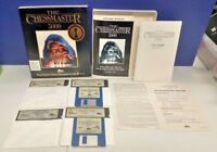 """The Chessmaster 3000 Big Box IBM PC Dos 3.0 - 5.25"""" Floppy Big Box GAME CiB Rare"""