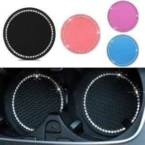 Mat Car Accessories Bling Car Coasters Car Cup Mat Coaster Drink Coaster