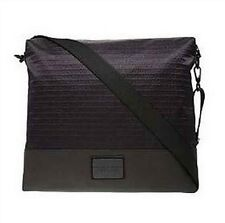New Armani Exchange AX Mens Signature Messenger Bag