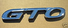 GTO CHROME (Paintable) Word Rocker Panel Emblem (1)